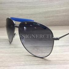 53ee2d6b2ff3 Emporio Armani EA 9807 S Sunglasses Ruthenium Blue YVR9C Authentic 60mm