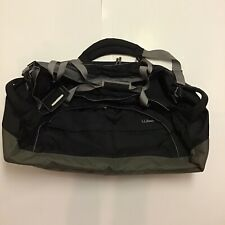 ll bean duffel bag, brand new, oversized with Side handles, black , Grey , Green