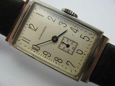 Longines Cal 25.17 Top seltene 30er 40er Jahre Handaufzug Herrenarmbanduhr