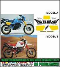 kit adesivi stickers compatibili xt 600 z tenere 55w 1985