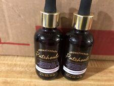 Bath & Body Works Aromatherapy Patchouli 3-in-1 Essential Oil Dropper 1.5 oz x2