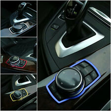 For BMW 1 3 5 Series X1 X3 X5 X6 Interior Multimedia Button Cover Molding Trim
