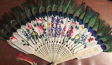 ANTIQUE JAPANESE HAND FAN CIRCA 1880'S