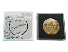 60th Diamond Wedding Anniversary - Gold Plated Commemorative Coin / Gift