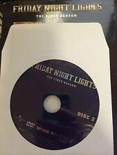 Friday Night Lights - Season 1, Disc 3 REPLACEMENT DISC (not full season)