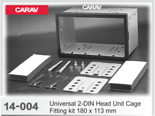 CARAV14-004Car Universal Double DIN Head unit Cage Fitting Kit With 180 x 113mm