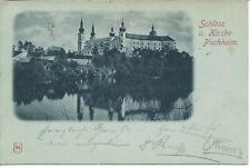 PUCHHEIM - Kirche und Ort, Mondscheinkarte