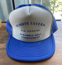 Vintage 90's Bunny's Tavern Golf Tournament Trucker Hat