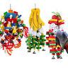 Vogel der Spielzeug-Papageien-Käfig-Biss Grey Macaws spielt Afrikaner
