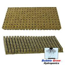 2 X GRODAN ROCKWOOL 98 CUBES SHEET BLOCKS PROPAGATION CLONING SEED RAISING