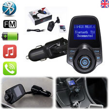 Bluetooth Car FM Transmitter Radio MP3 Player USB Charger Wireless Handsfree UK