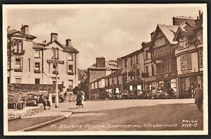 BOWNESS-ON-WINDERMERE postcard St. Martins Square