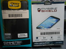 New Genuine Black Otterbox for Samsung Galaxy Note 4 + Screen Protector Kit