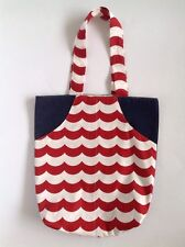 Ladies Handmade Nautical Eco Shopper tote Beach school library or casual bag