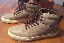 Vans Alomar OTW Collection (Perfs) Khaki/Turtledove Leather Shoes Men's 7.5 NIB!