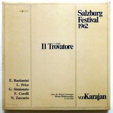 Verdi IL TROVATORE Von Karajan 3LP SEALED Classical Salzburg 1962  cla10