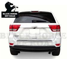 Black Horse 14-19 Acura MDX Black Rear Bumper Guard Protector Double Layers