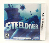 Steel Diver Nintendo 3DS Video Game New Sealed