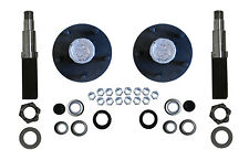 Build Your Trailer Axle Kit 3500# square spindle 5x4.75 Small Chevy hub