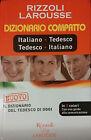 DIZIONARIO COMPATTO ITALIANO TEDESCO-TEDESCO ITALIANO