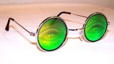 OPEN EYE W LASHES HOLOGRAM SUNGLASSES novelty glasses freaky eyes glass party