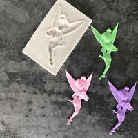 Fairy Silicone Fondant Chocolate Cake Decorating Mold Sugarcraft Baking Mould