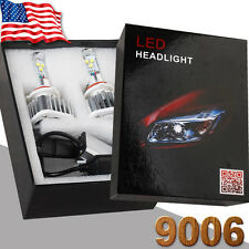 2Pcs 9006 HB4 9012 LED Headlight Kit 80W 8000LM Bulbs 6000K Cool White Lights