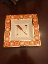 C Wonder Decorative Monogram K Plate Dish