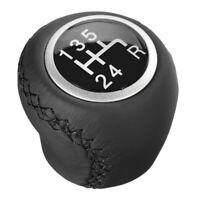 Pommeau de Levier de Vitesses en Cuir 5 Vitesses pour Fiat Grande Punto 2006- B4