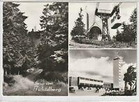 Ansichtskarte Oberwiesenthal/Kreis Annaberg - Gruß vom Fichtelberg -schwarz/weiß