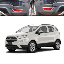 ABS Chrome Rear Bumper fog light lamp Cover Trim fit for Ford EcoSport 2013-2019