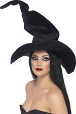 Chapeau Sorcière Noir Femme Halloween Cod.42512