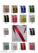 Personalised sash Birthday, Party, Mum to Be, Hen Nights, Proms, Beauty Pageants