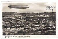 """Feldpostkarte eines Lehrers der """"NSFK-Reichssegelflugbauschule IV"""" Esslingen"""