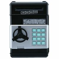 Electronic Piggy Bank ATM Password Cash Coin Money Saving Auto Deposit Box Toy