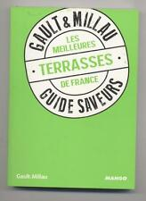 NEW BOOK GAULT & MILLAU THE BEST TERRACES FRANCE GUIDE FLAVORS 2013