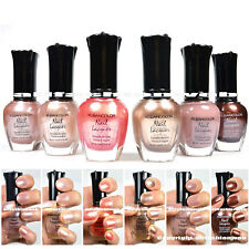 Kleancolor 6 Nail Polish Natural Nude Beige Colors Set ! Lacquer Collection