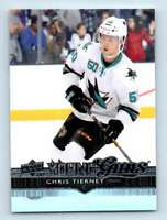 2014-15 Upper Deck Young Guns Chris Tierney RC #240