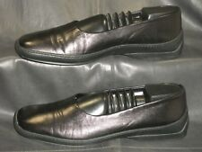 Tod's women's black smooth leather low heel pumps size EUR 38