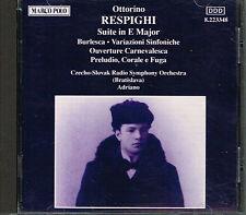 CD album: Respighi: Suite In E Major. Adriano. Marco Polo . E