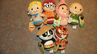 HALLMARK ITTY BITTYS WB  AND DREAMWORKS LOT OF 6 - PERFECT FOR EASTER BASKET