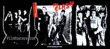 THE CLASH JOE STRUMMER PUNK ROCK VINTAGE 1979 DEBUT ALBUM PROMO POSTER