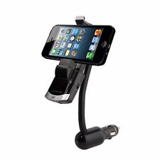3 in 1 FM Transmitter, Phone Holder and Car Charger Wireless Bluetooth Receiver