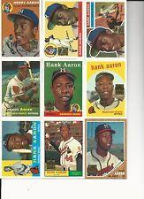 1999  Hank Aaron  Topps Reprint Set of 23