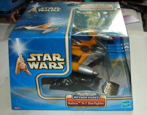 Star Wars Action Fleet Naboo N-1 Starfighter  2002 Micro Machines MIP Galoob 621