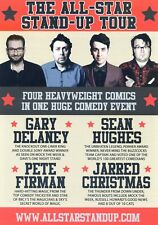 SEAN HUGHES GARY DELANEY JARRED CHRISTMAS PETE FIRMAN Theatre Flyer Handbill