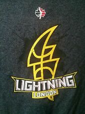 NBL of Canada London Lightning long sleeve T-shirt NBA Zorrel Bnwot