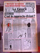 Le Canard Enchainé 1/9/1993; La Russie veut récupérer les fonds versés au PC