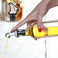 AU Olive Oil Sprayer Liquor Dispenser Wine Pourers Flip Top Stopper Kitchen Tool