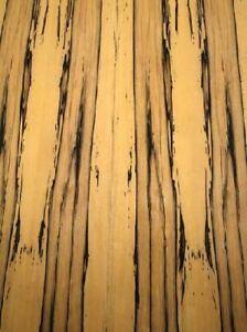 Ebenholz Furnier schwarz weiß Royal Ebony 4Y 190x22cm 2 Bl